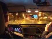 interno auto polizia