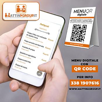 menu digitale mattinagroup